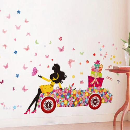 Cute Art Wall Stickers Kids Decals Home