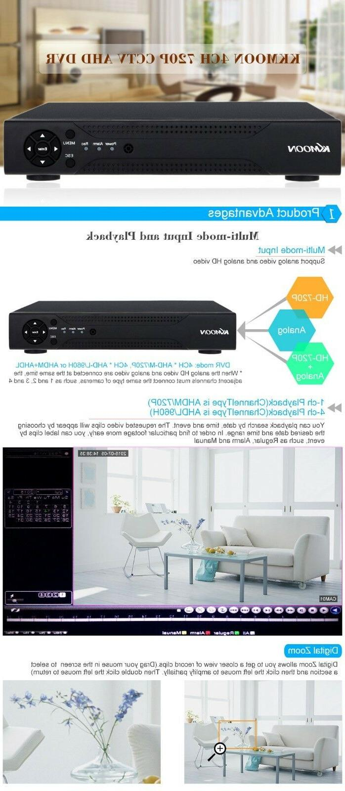 DVR 960H HDMI Video Security System Recorder