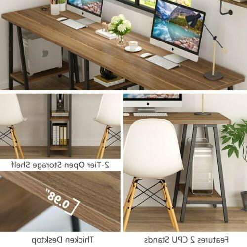 Excellent Workstation Desk for Home Office Writing Meeting