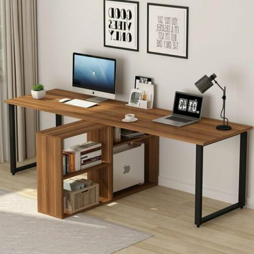 Excellent Double Desk Home Office Writing