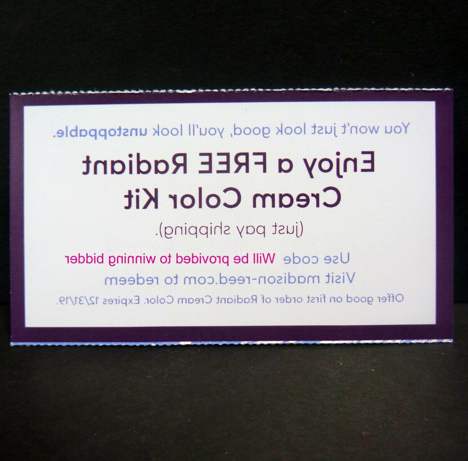 gift card for free radiant hair at
