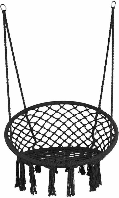 Hanging Cotton Rope Hammock Swing for US