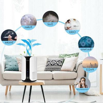 Home with True HEPA Cleaner for Allergies, Smokers