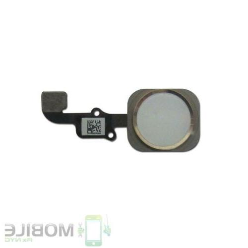 Home Menu Button Flex Cable Gasket Repair for Apple iPhone 6