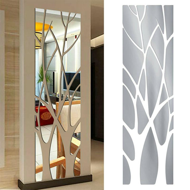 For Home Mirror Wall Adhesive Bathroom On Art
