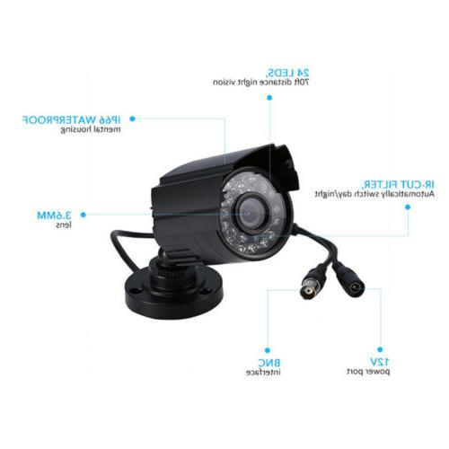 In/Outdoor CCTV Night Vision System
