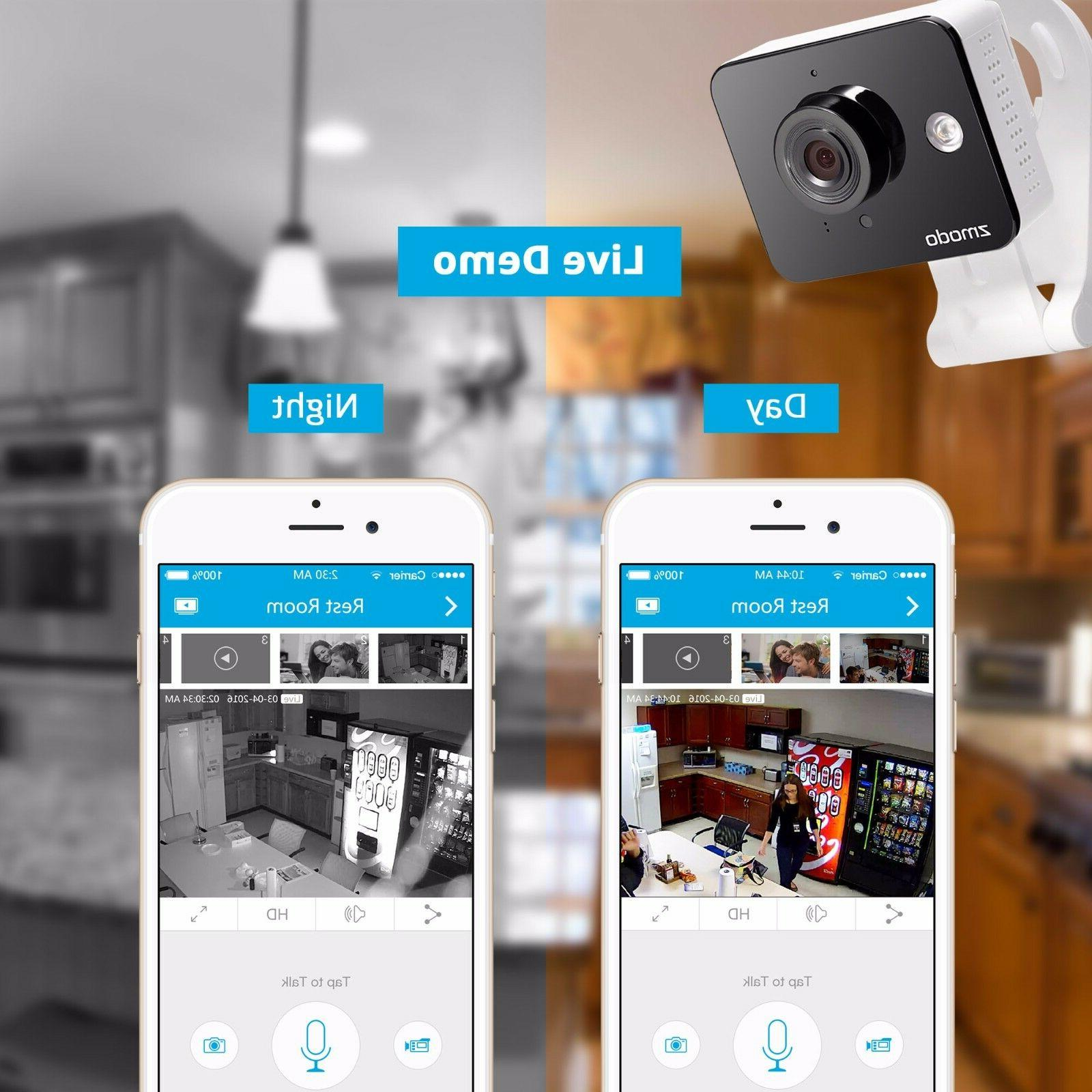 Zmodo WiFi Wireless HD Indoor Camera