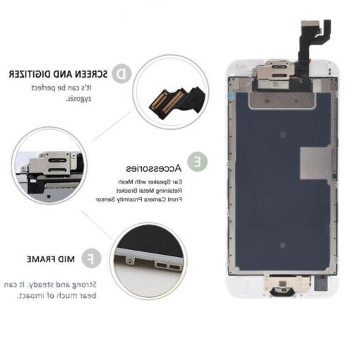 For iPhone 6 6s Front Replacement LCD Touch Digitizer Assembly