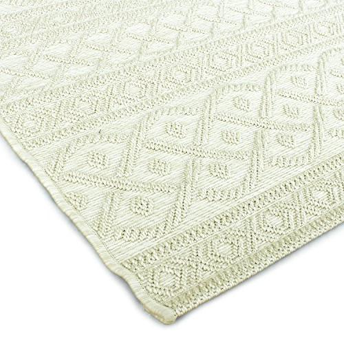 """Orian Rugs Jersey Indoor/Outdoor Organic Cable Sweater Area Rug, x 10'10"""","""