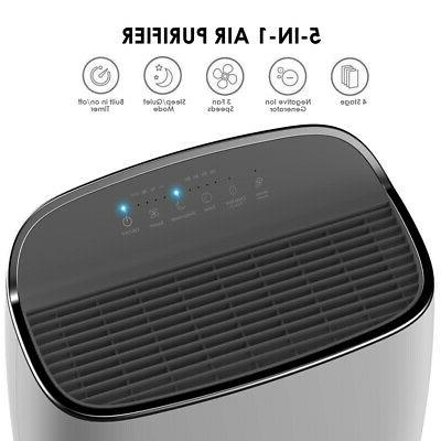 Large Air HEPA Purifier Indoor Air Cleaner for Allergies