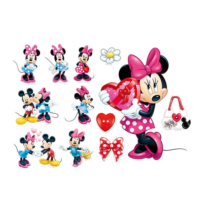Mickey Minnie Vinyl Wall Decals Sticker Kids Decor