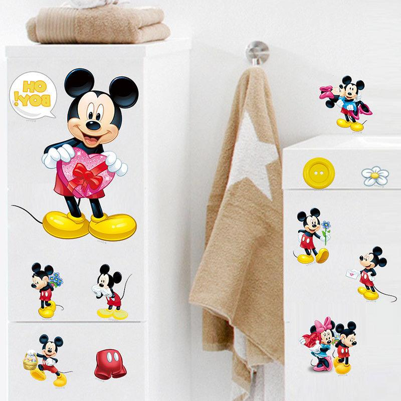 Mickey Mouse Wall Decals Sticker for Kids Room Decor