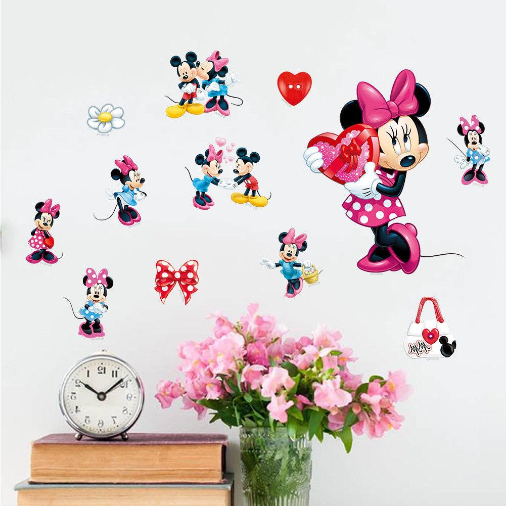 Mickey Mouse Vinyl Wall Kids Nursery Decor