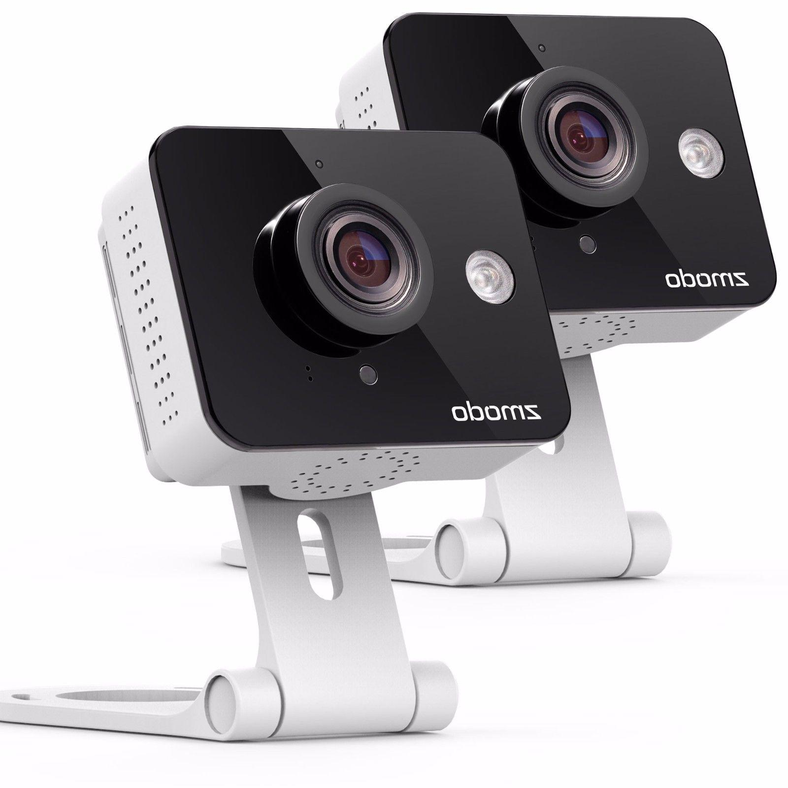 Zmodo 2 Pack WiFi Wireless Camera Night Vision Two-Way