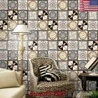 Mosaic Waterproof Self Adhesive Tile Wall Sticker Kitchen De