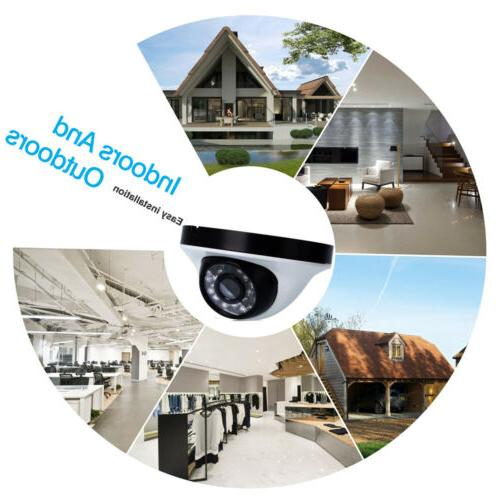 Outdoor Waterproof 720P Home Security CCTV Night Vision DVR