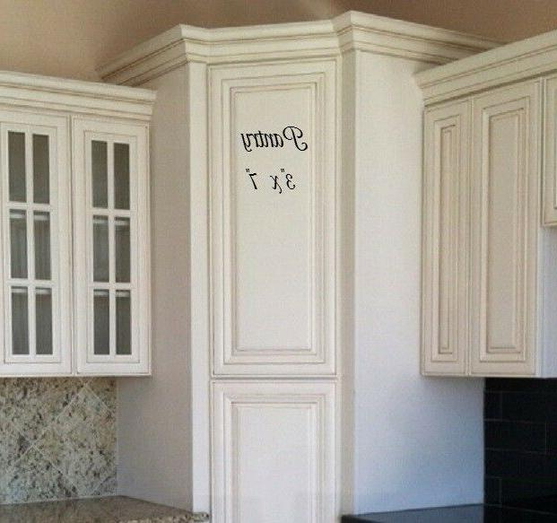 pantry door vinyl 7 decal sticker