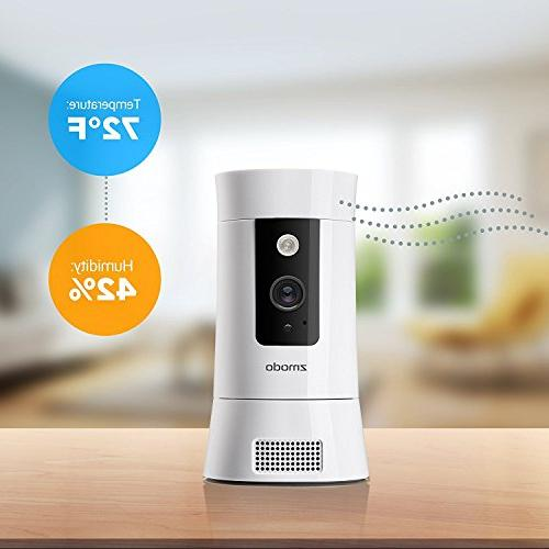 Zmodo WiFi Wireless Security Camera, Activity Night Service Available All-in-One Hub