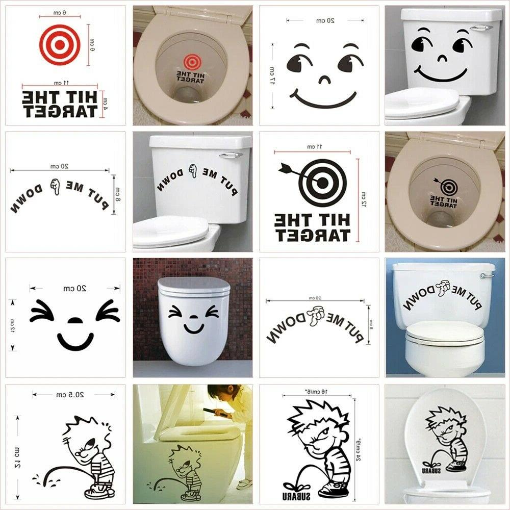 Funny Toilet Stickers For Home