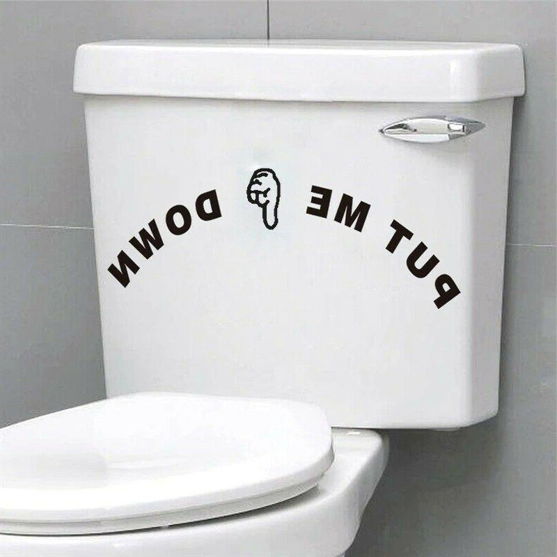Funny Quotes Pattern Stickers For Waterproof Vinyl Mural