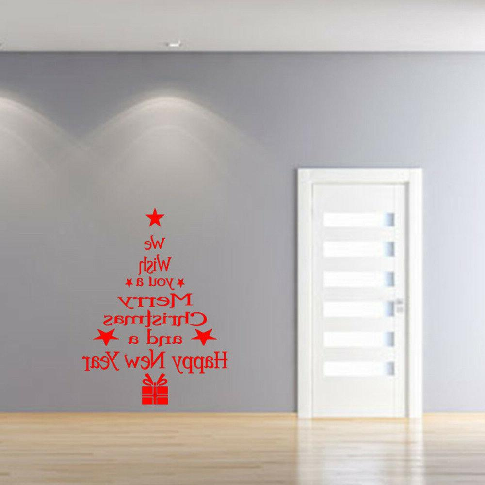 Removable Christmas For Party Decal
