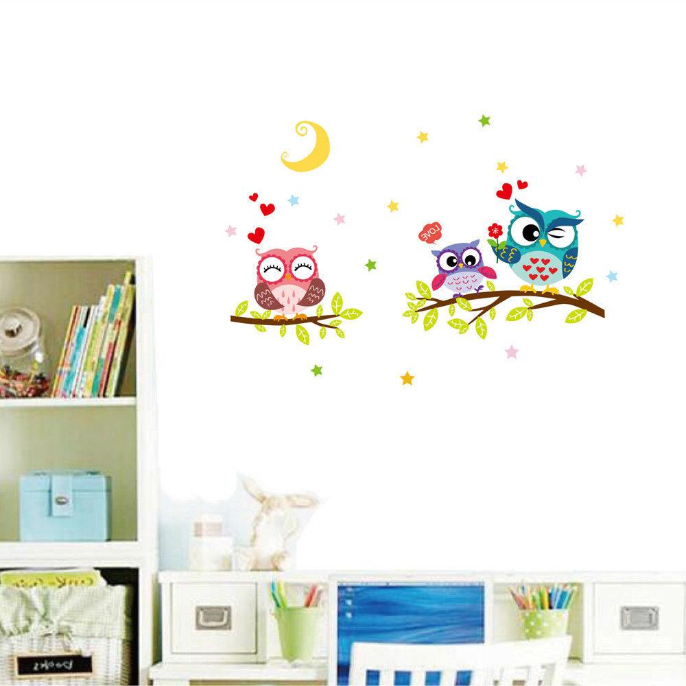 Owl Sticker For Kids Home