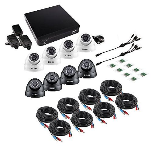 ZOSI 8-Channel Security System DVR 720P LEDs