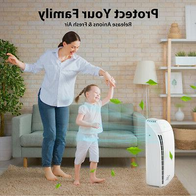Air Purifier With HEPA Filter Ultra Cleaner for Home Allergies