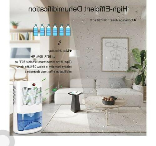 Small Dehumidifier with 2000ml Water Tank Up 320