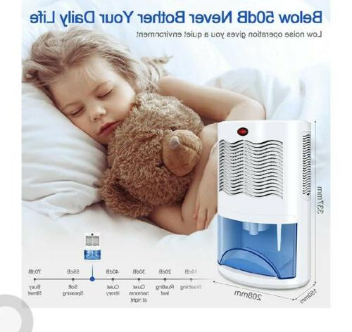 Small Dehumidifier for Home with 2000ml Up Ft