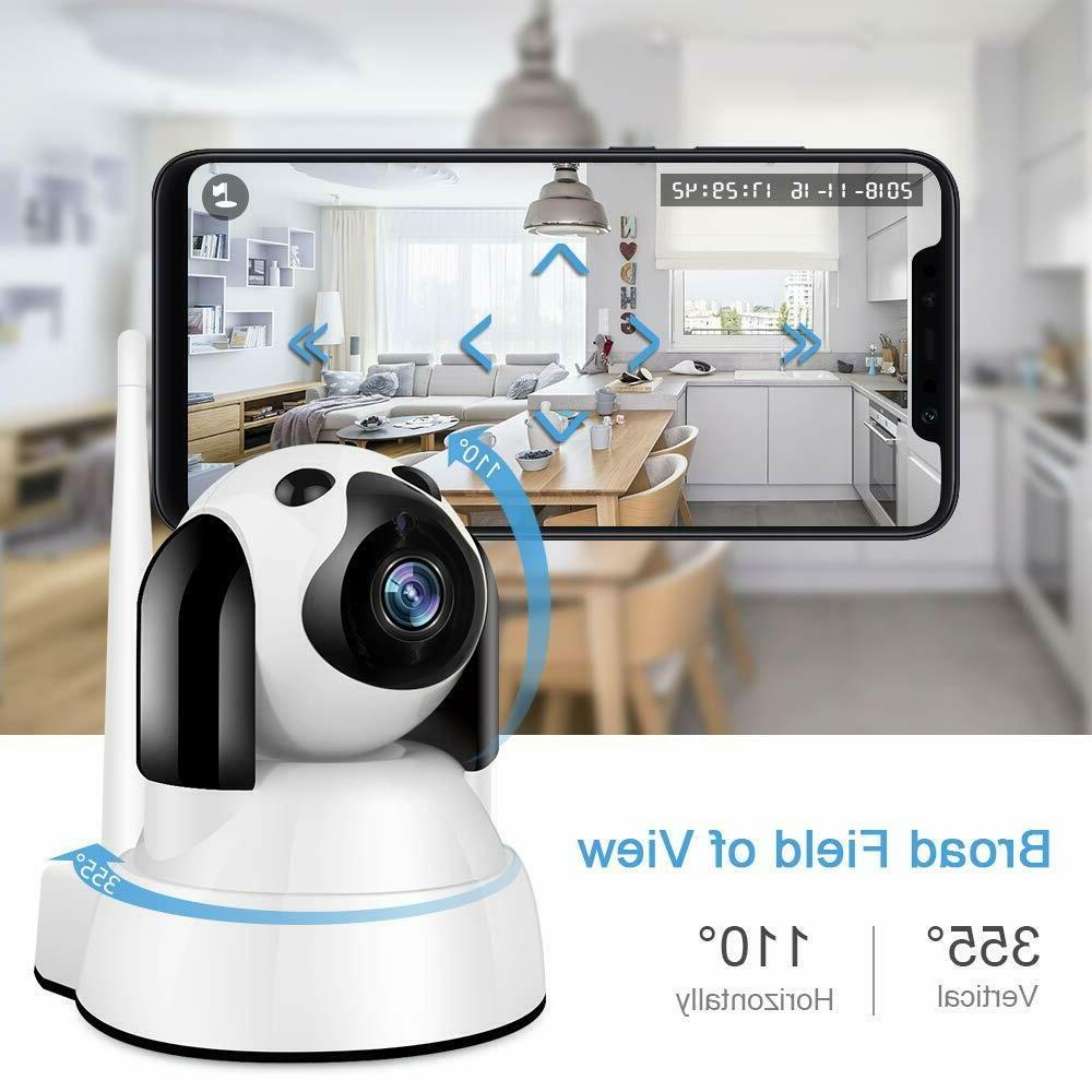 Zhiliao Smart 720P for Baby Monitor, pet Camera