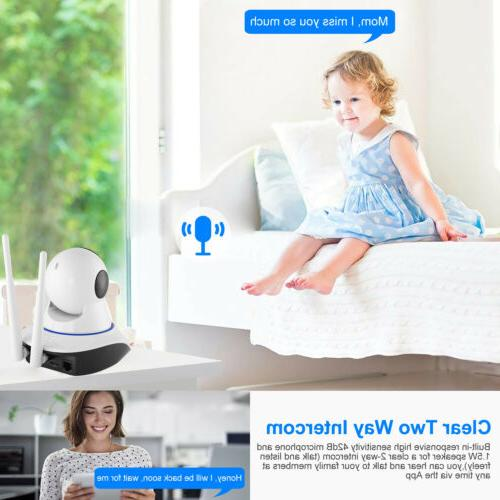 US HD Wireless Security Indoor Home Monitor