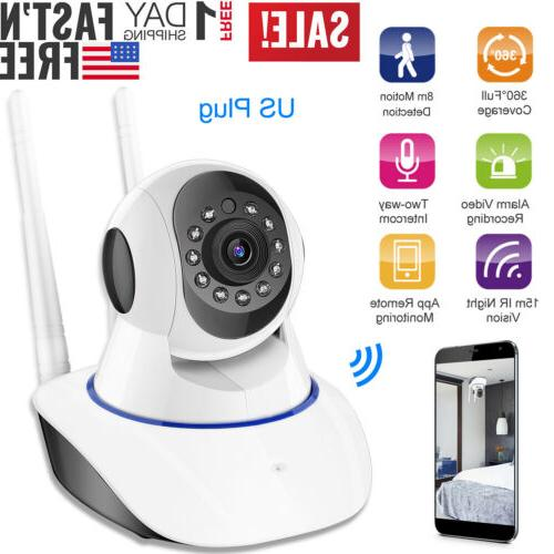 US HD Wireless IP Security Indoor Home Smart WIFI Baby
