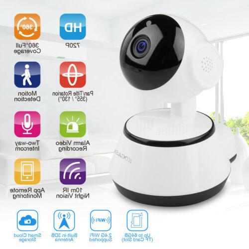 US HD Security Indoor CCTV Home Smart WIFI Baby Monitor