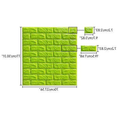 WALL 3D SELF-ADHESIVE WALLPAPER BRICK FOR DECOR