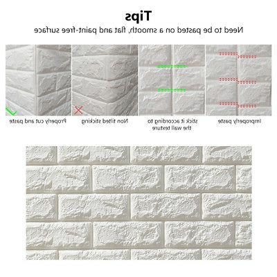 WALL PANEL SELF-ADHESIVE FOAM DECOR