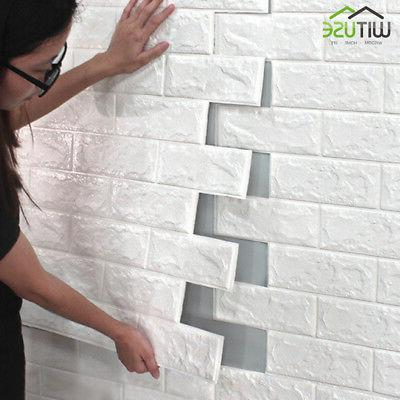 wall panel sticker 3d self adhesive wallpaper