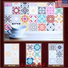 waterproof mosaic tile sticker home art wall