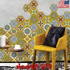 Waterproof Non Slip PVC Hexagon Floor Sticke Wall Sticker Wa