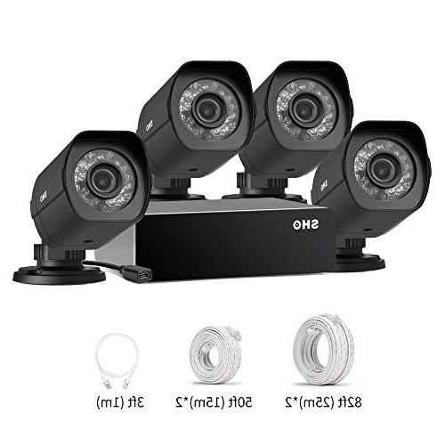 SHO HD Weatherproof Security Camera for Power & Transmission, Monitoring -