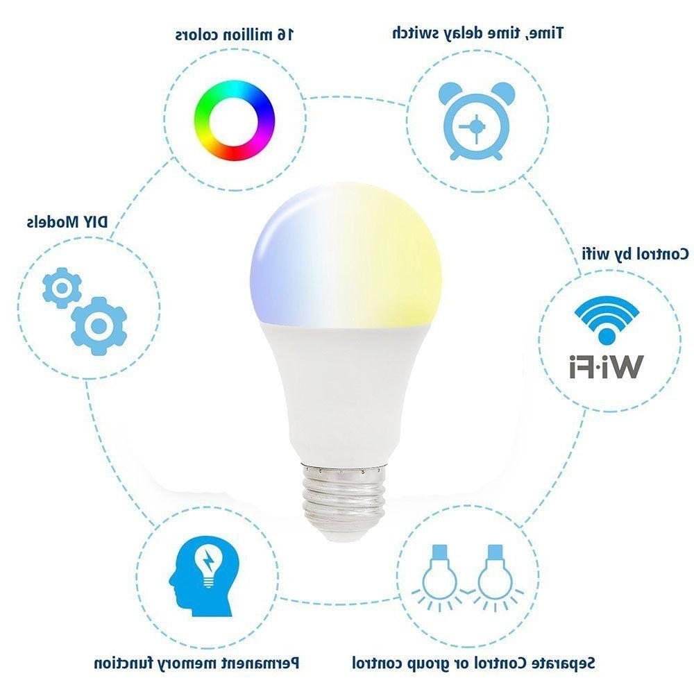 Wifi Light Bulb Amazon Alexa App Remote