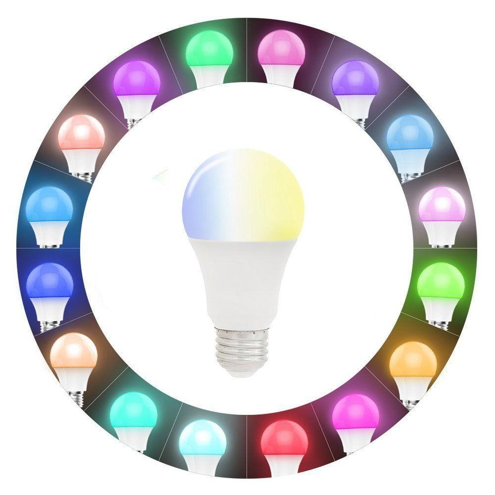 Wifi Smart Multi-Color LED Light Bulb Alexa Home Remote