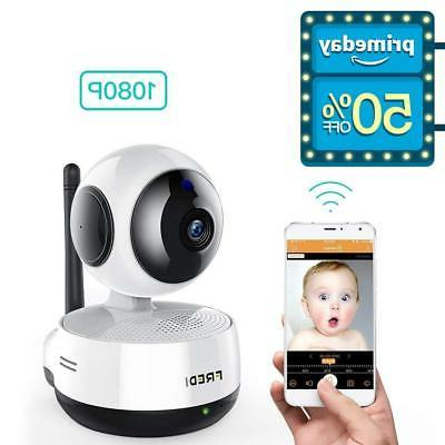 FREDI Wireless 1080P Ip Baby Camera WiFi Home Security Surve