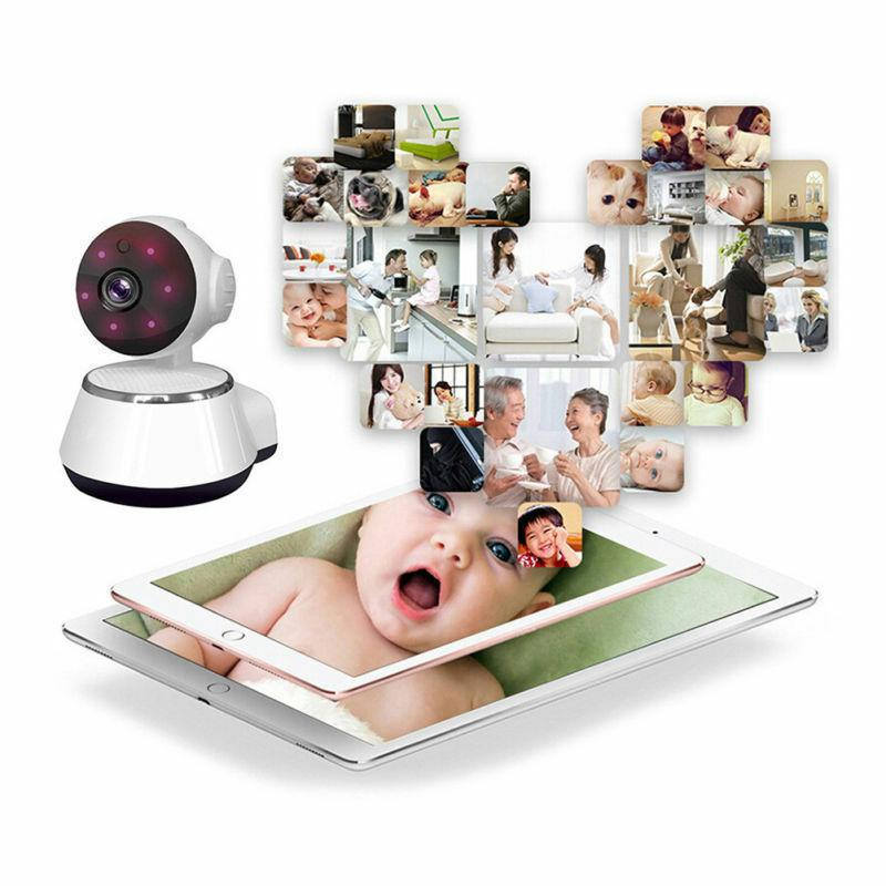 Wireless Network Camera IR Night Vision WiFi For Home