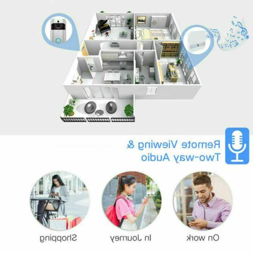 Wireless Outdoor Video Doorbell For Android Phone