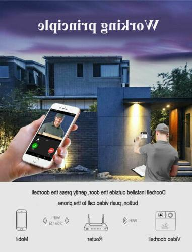 Wireless Video Doorbell For Android Phone