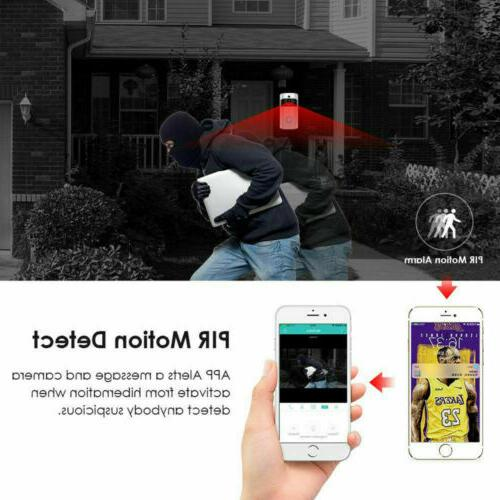 Wireless Wi-Fi Video Doorbell For IOS Android