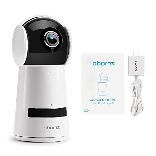 Zmodo 1080P Home Camera, Indoor Wireless Surveillance Camera System, Smart Audio with Vision Monitor with iOS,