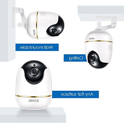ZOSI 1080P Security Camera for Camera Baby Monitor with Camera Audio