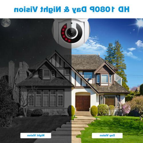 2X WiFi IP Camera Home IR Night For